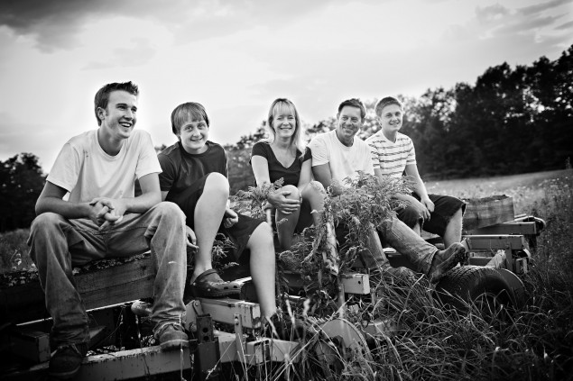Jen & The Boys, Down on the Farm {family lifestyle photography}