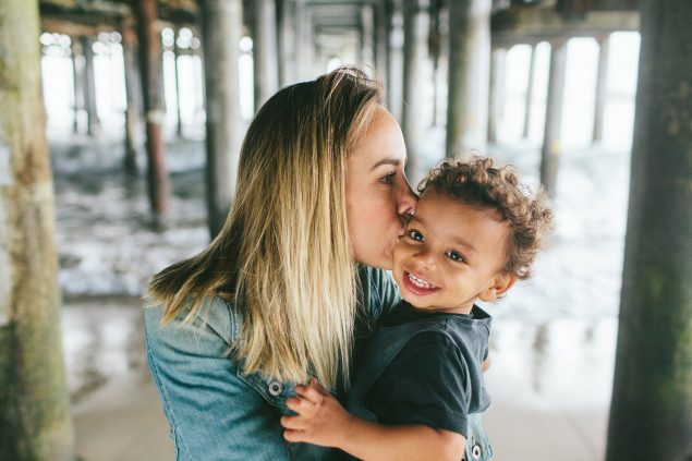 Postcards from LA {santa monica beach family photography}
