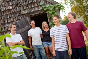 Family time on an NH farm, farm life. New Hampshire Family Photographers - Birch Blaze Studios