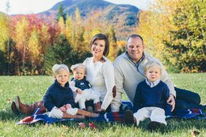 Bartlett, NH Family photographers, Birch Blaze Studios. Family groupings, White Mountains of New Hampshire. Mountaintop family session.