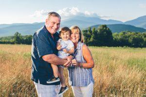 Jackson, NH Family photographers, Birch Blaze Studios. Family groupings, White Mountains of New Hampshire. Mountaintop family session.