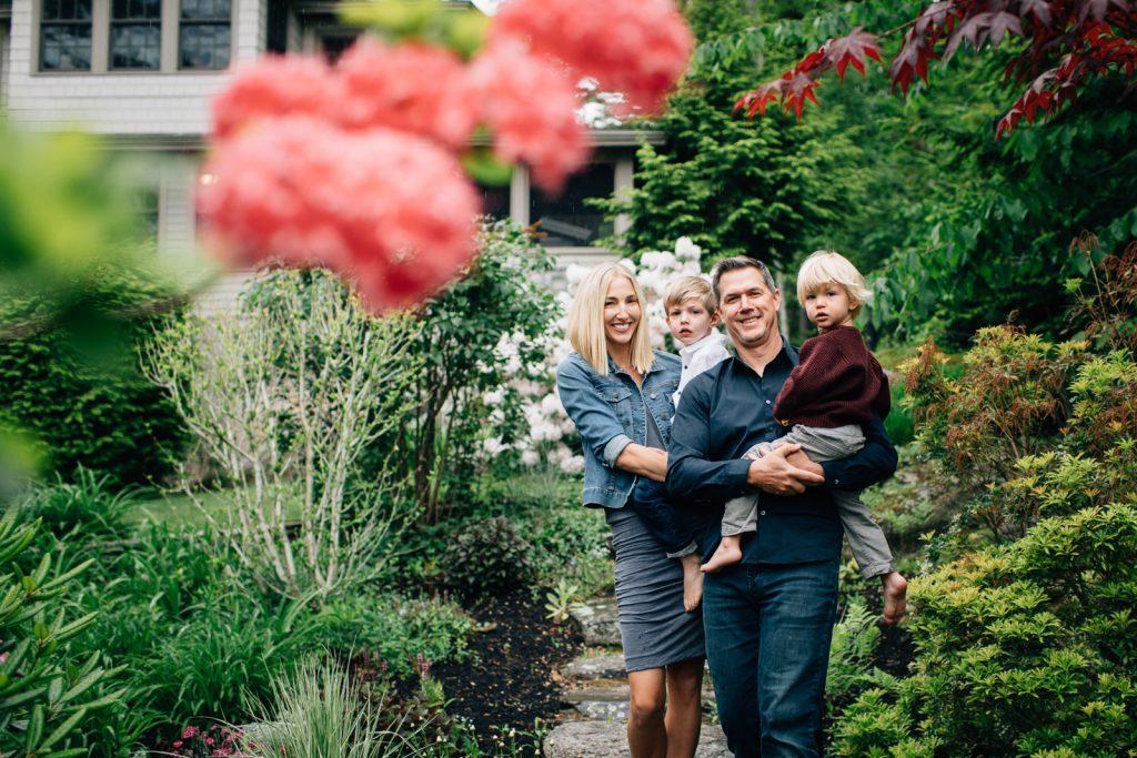 Young family, Lake Winnipesaukee family photographers, Birch Blaze Studios. Wolfeboro, NH.